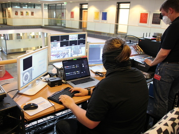 Technik für das Livestreaming