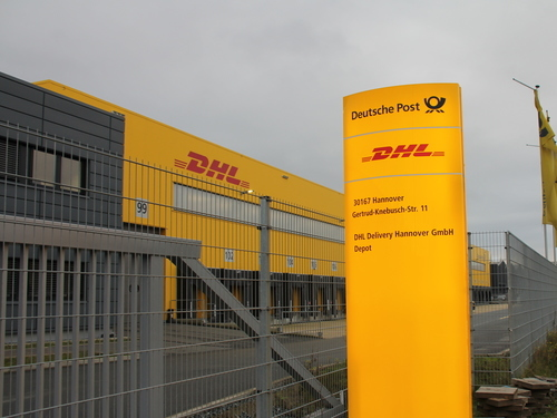 DHL Zustellbasis in Hannover